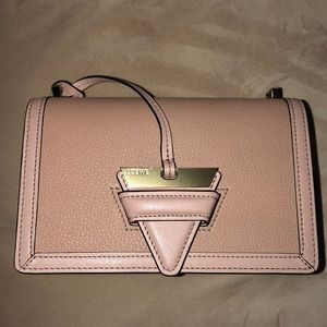 Loewe Barcelona SM Gold Pink Blush Crossbody Bag